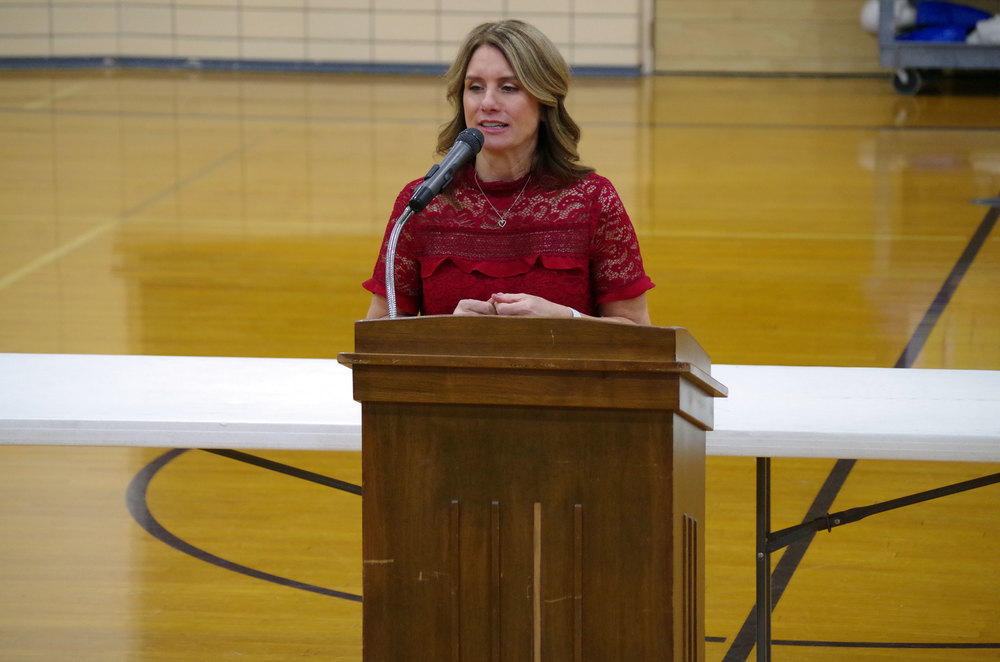 Middle School Hosts Heart Health Awareness Assembly