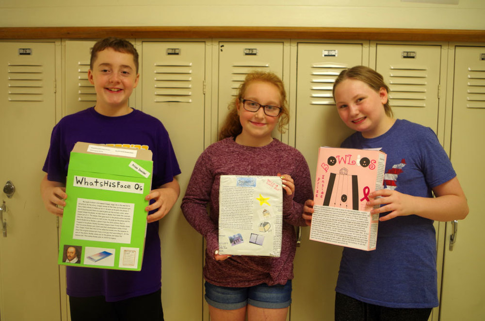 6th Grade Creates An Assortment of Book Reports!