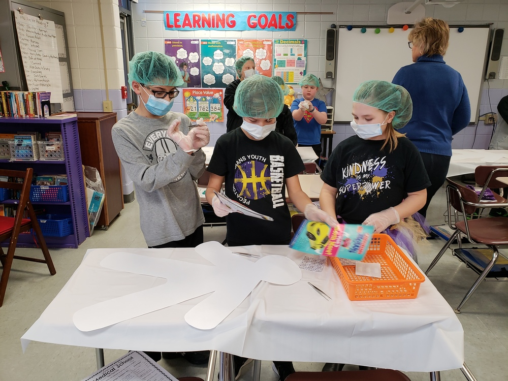 5th Grade Performs Text Surgery!! Read All About It!