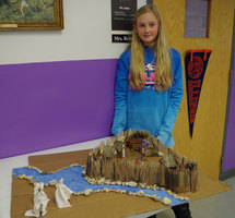 5th Grade Create Beautiful Jamestown Replicas