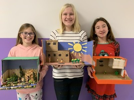 5th Grade Native American Diorama