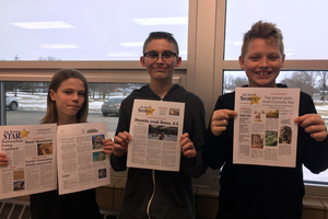 6th Grade Science Students Get Published