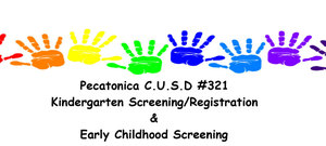 Pecatonica Kindergarten Screening/Registration