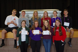 Pecatonica High School Holds Distracted Driving Assembly