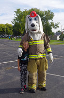 Sparky the Fire Dog and Fire Safety