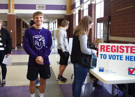 ​High School Voting Registration Drive At PHS