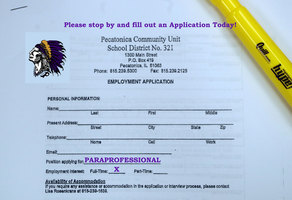 PARAPROFESSIONAL JOB OPENINGS