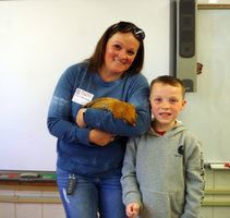 ​Chicks & Salsa Children's Book Inspires A Chicken To Visit 1st Grade