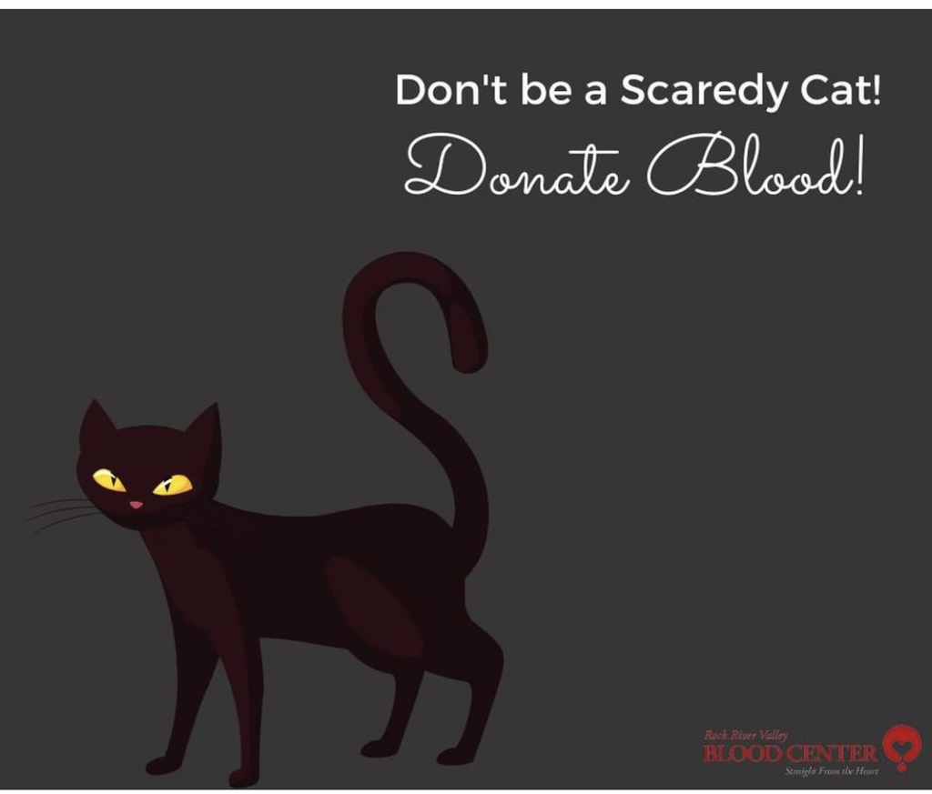 Donate blood! It's not that scary!🩸