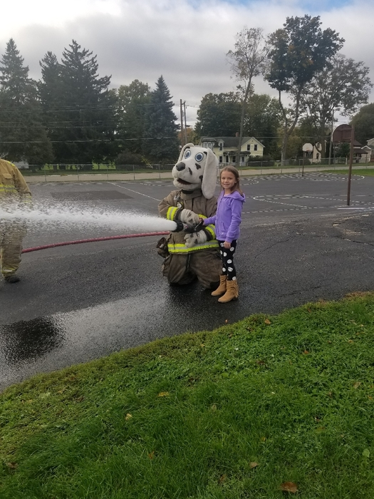 Firefighter in training!