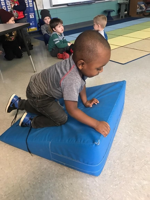 Gross motor skills are so important!